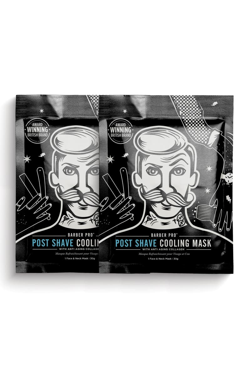 BARBER PRO Post Shave Cooling Mask Duo, Main, color, 000