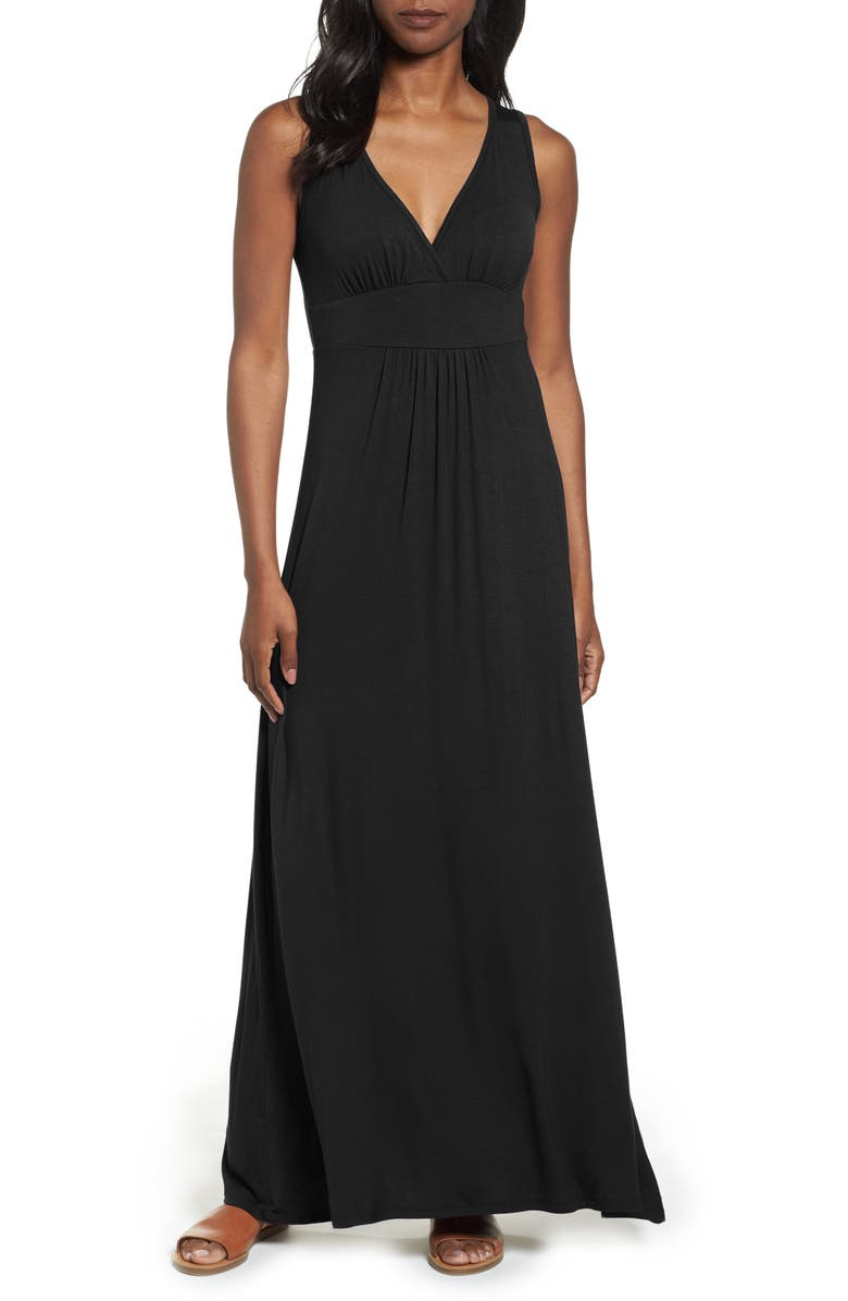 LOVEAPPELLA Solid Maxi Dress (Was $68, Now $47.60)