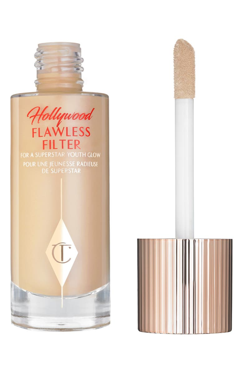 CHARLOTTE TILBURY Hollywood Flawless Filter Primer & Highlighter, Main, color, 3 LIGHT/MEDIUM