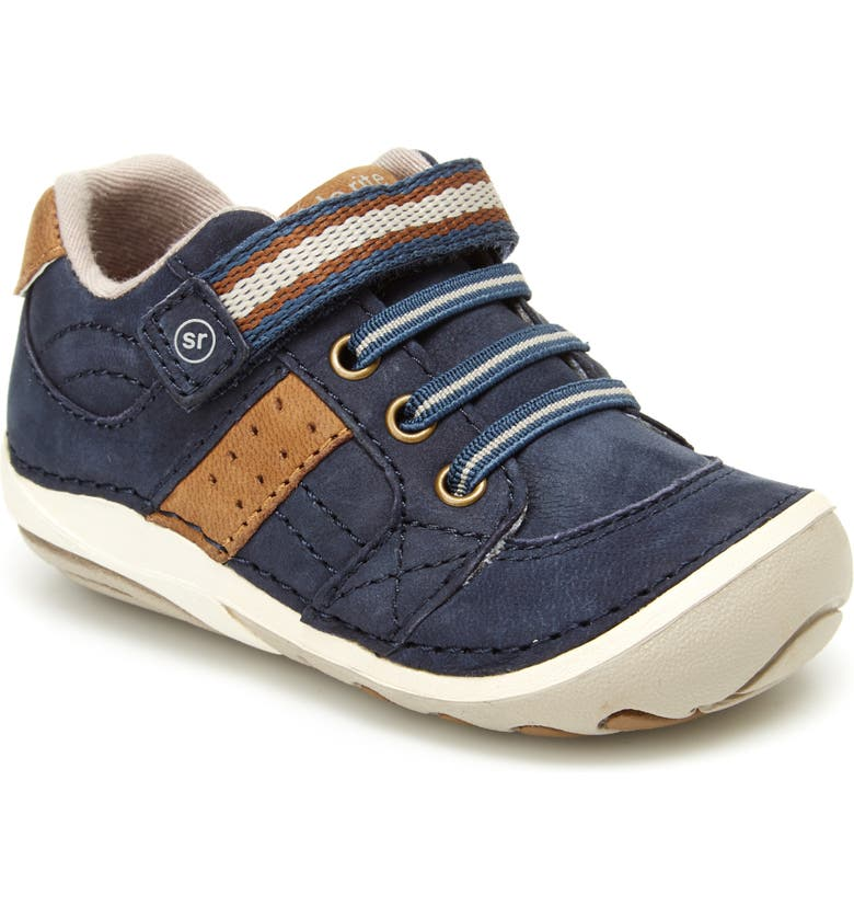 STRIDE RITE 'Artie' Sneaker, Main, color, NAVY