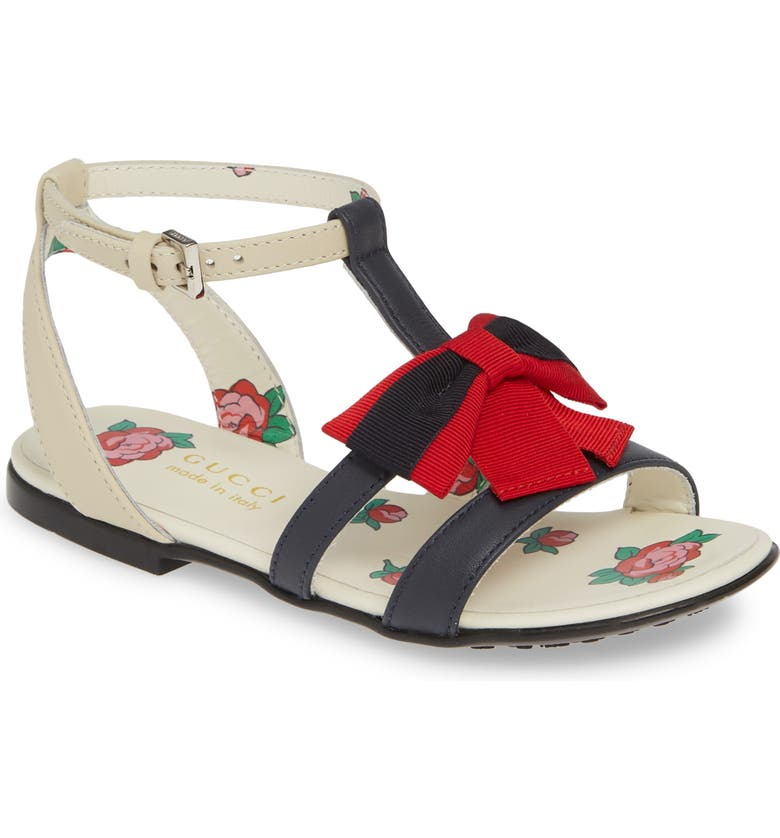 GUCCI Jane Bow Sandal, Main, color, 493