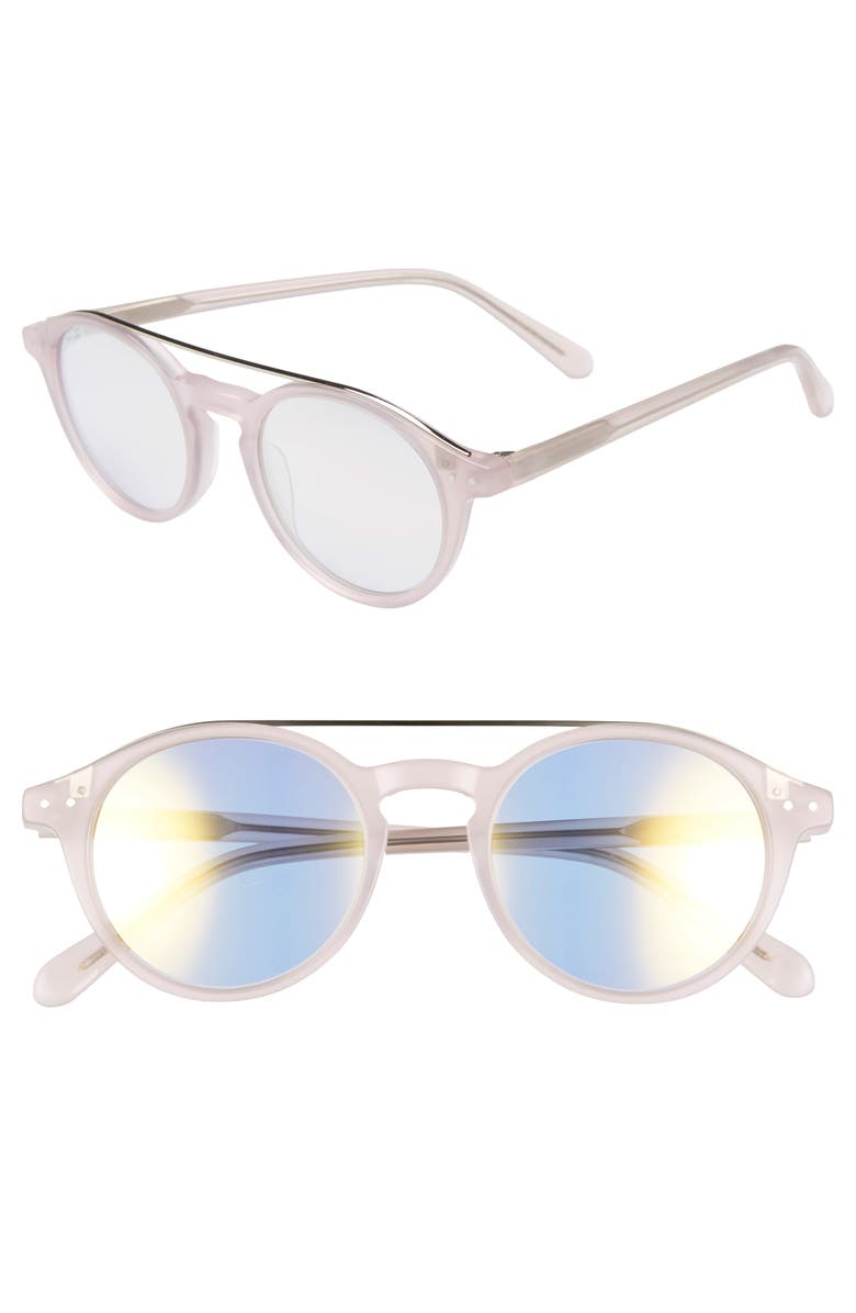 MADEWELL Omaha Top-Bar 50mm Sunglasses, Main, color, 650