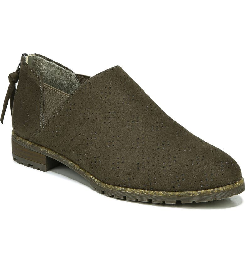 DR. SCHOLL'S Roll Call Bootie, Main, color, OLIVE FABRIC