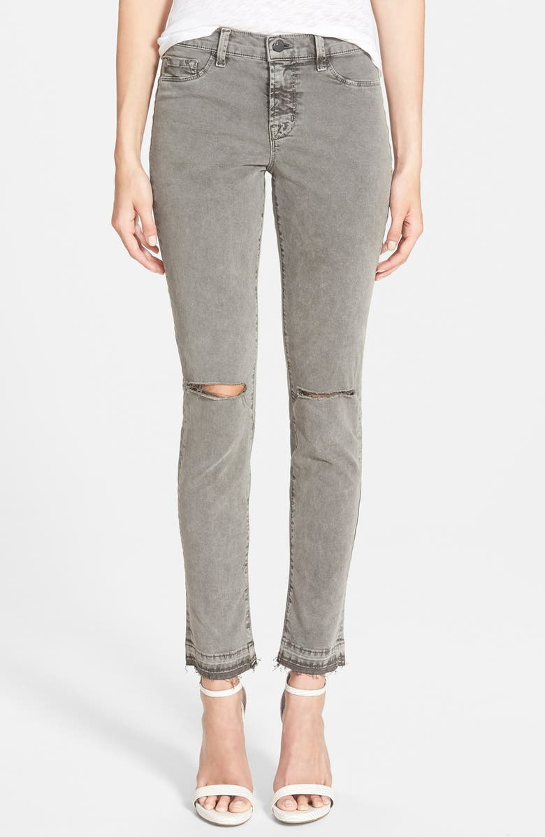 J BRAND Mid Rise Skinny Jeans, Main, color, 021