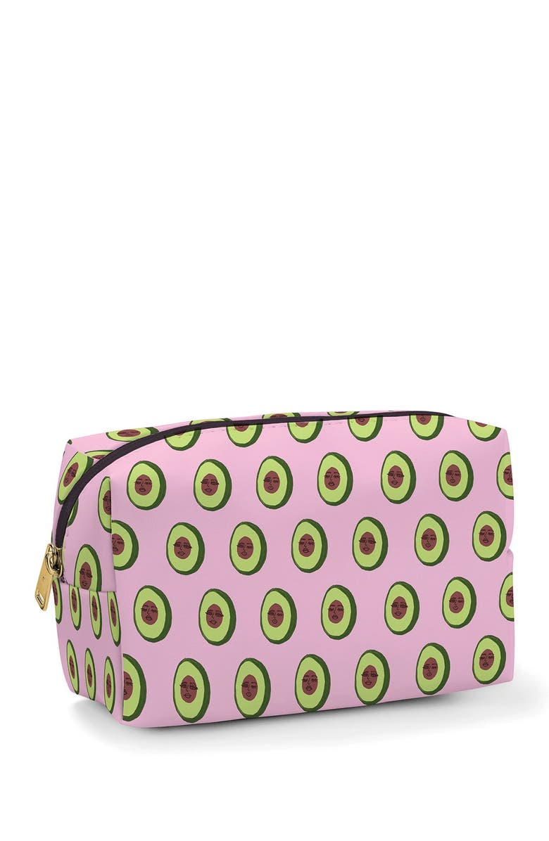 STUDIO OH Avocadoze Cosmetic Loaf Pouch, Main, color, NO COLOR