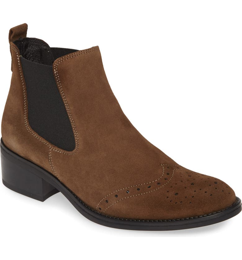 TONI PONS Tivat Bootie, Main, color, TAUPE SUEDE