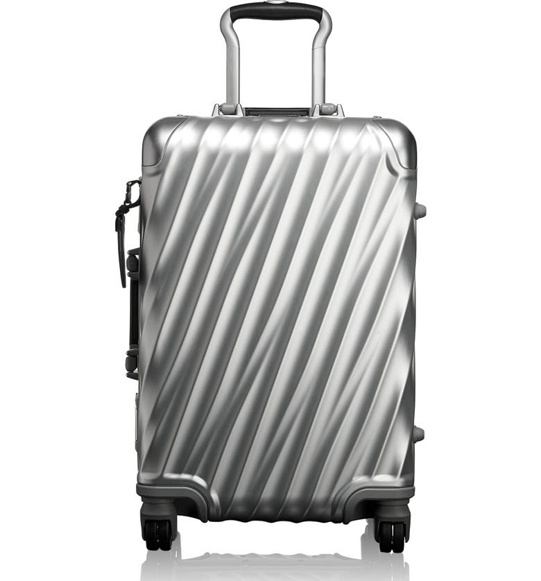 TUMI 19 Degree 22-Inch Wheeled Carry-On Bag, Main, color, Silver
