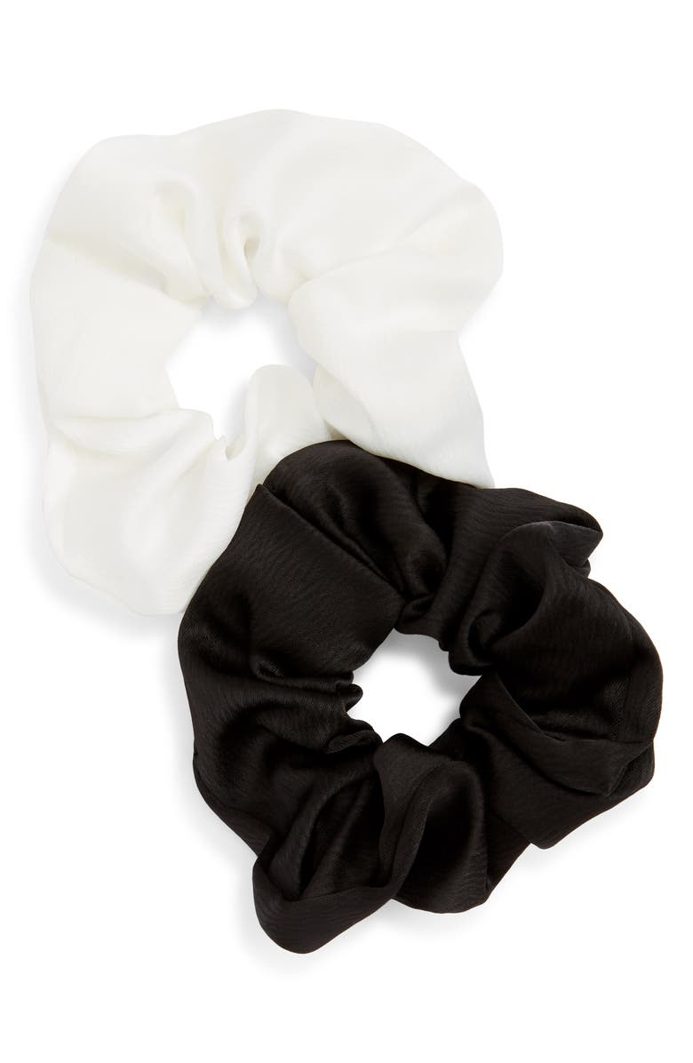 TASHA 2-Pack Scrunchies, Main, color, 001