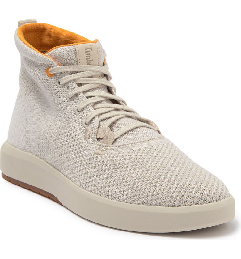TIMBERLAND Truecloud Knit High Top Sneaker, Main, color, RAINY DAY