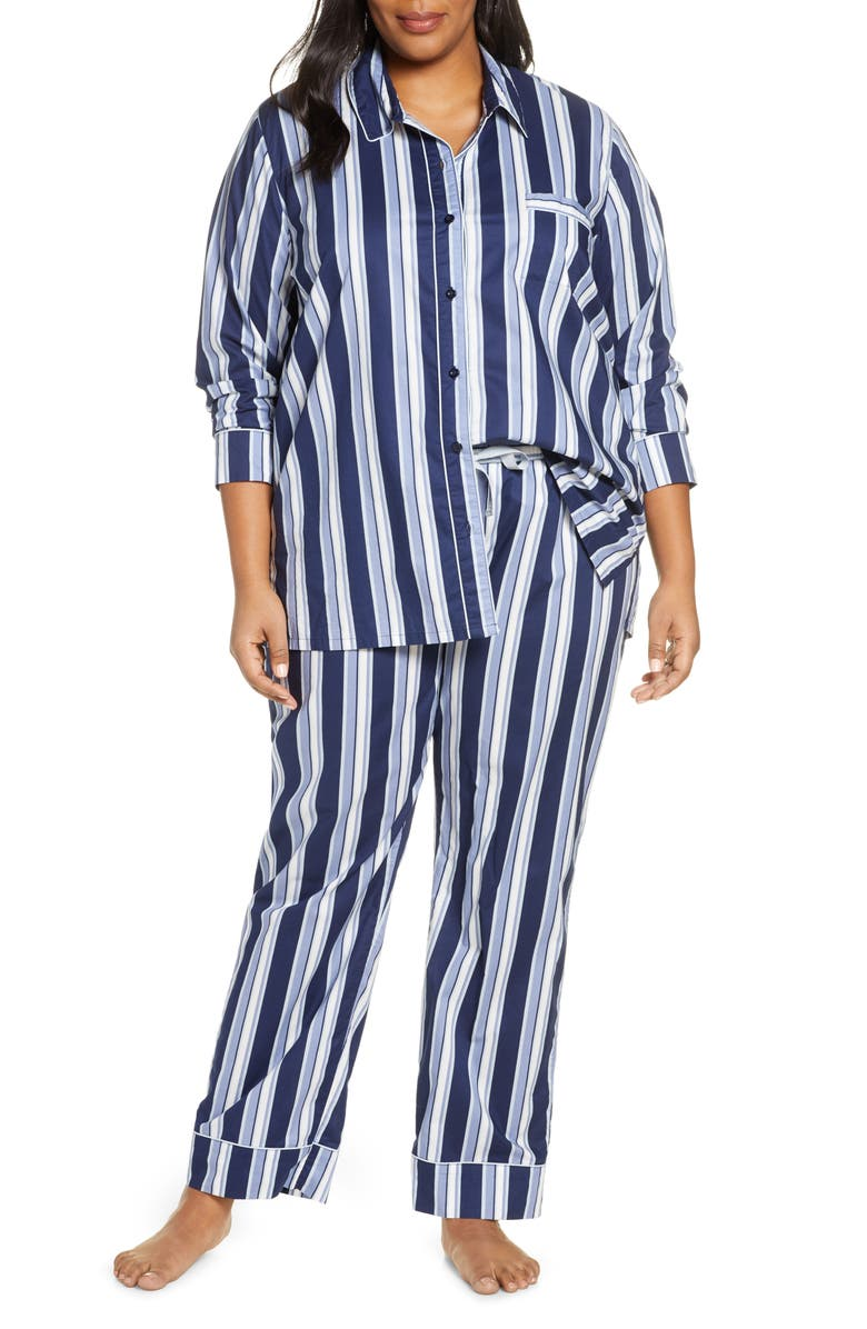 NORDSTROM Lingerie Classic Pajamas, Main, color, 410