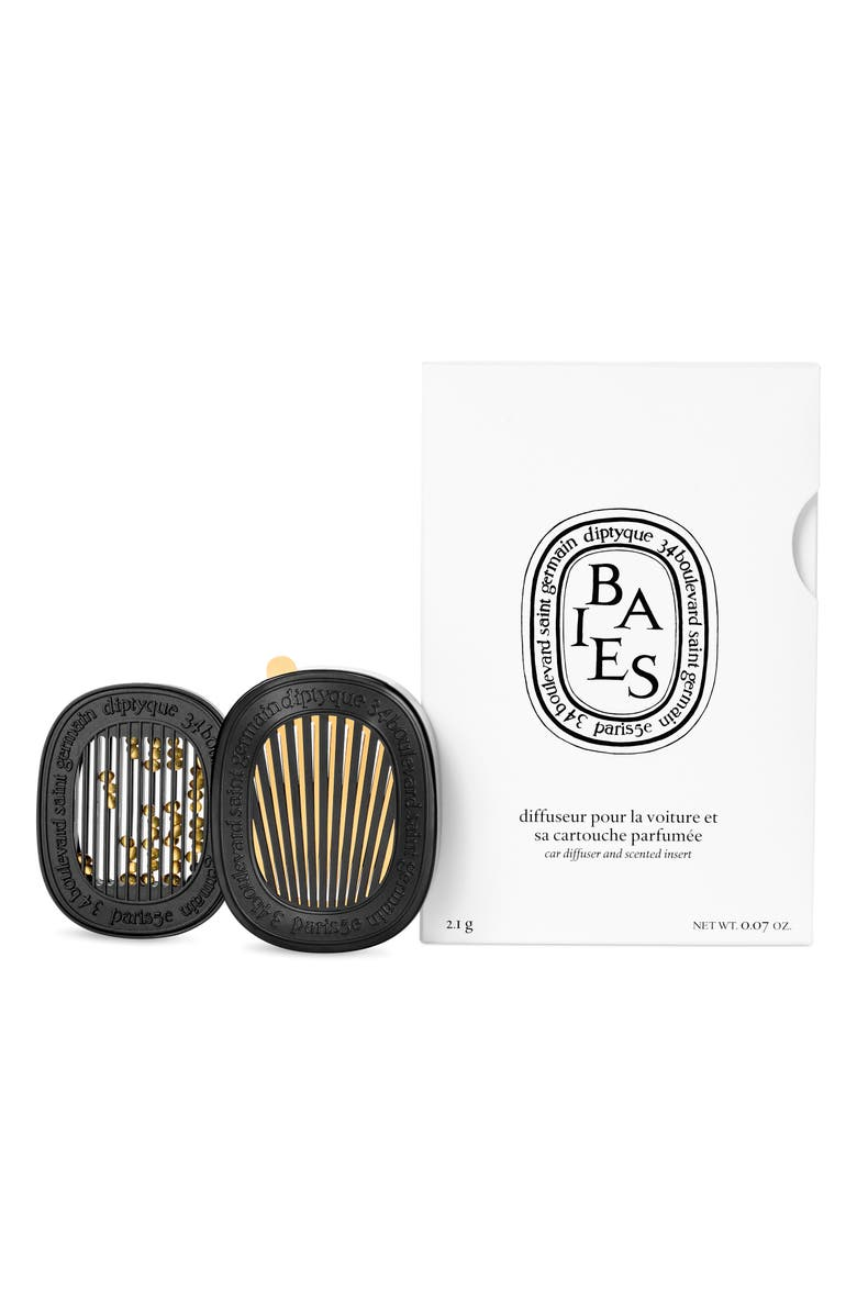 DIPTYQUE Baies Car Diffuser & Insert, Main, color, NO COLOR