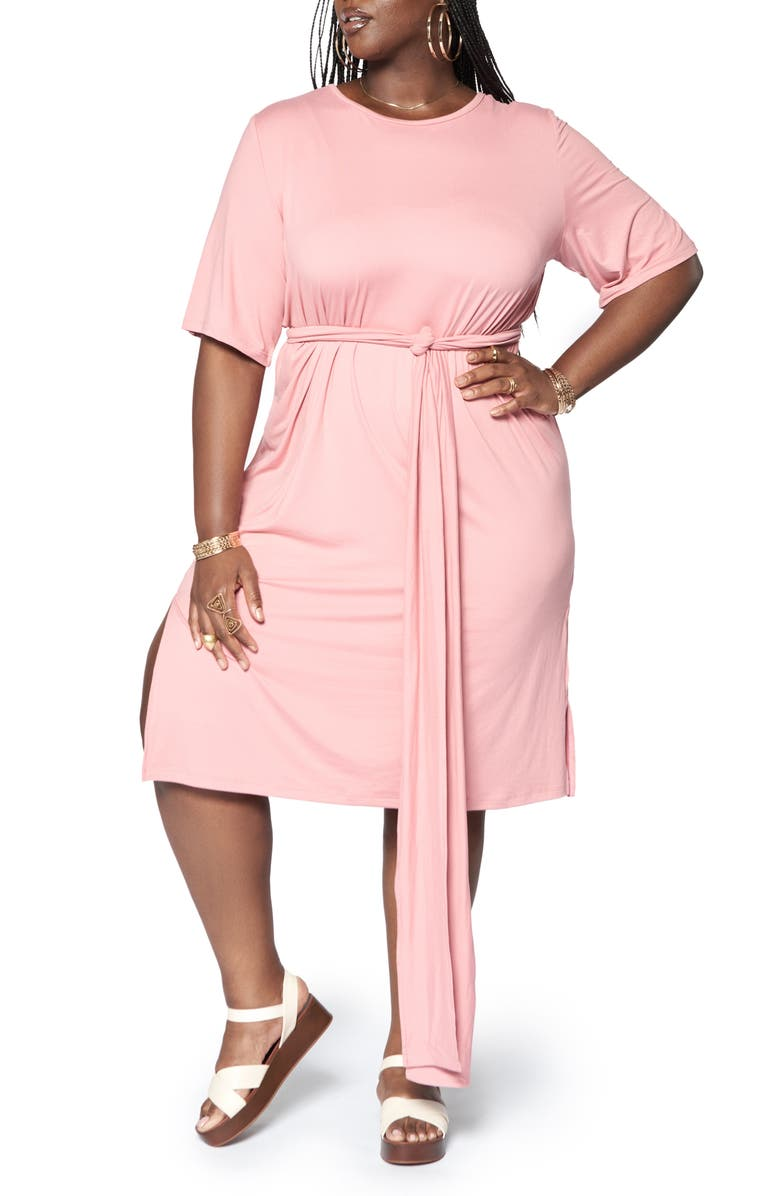 ZELIE FOR SHE Mirage Leisure Dress, Main, color, PINK
