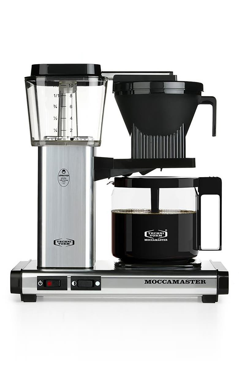 MOCCAMASTER KBG Coffee Brewer, Main, color, 040