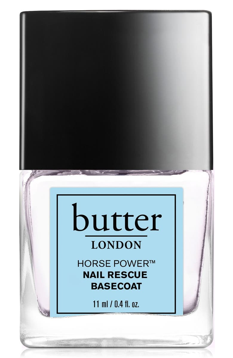 BUTTER LONDON 'Horse Power<sup>™</sup>' Nail Rescue Basecoat, Main, color, 000
