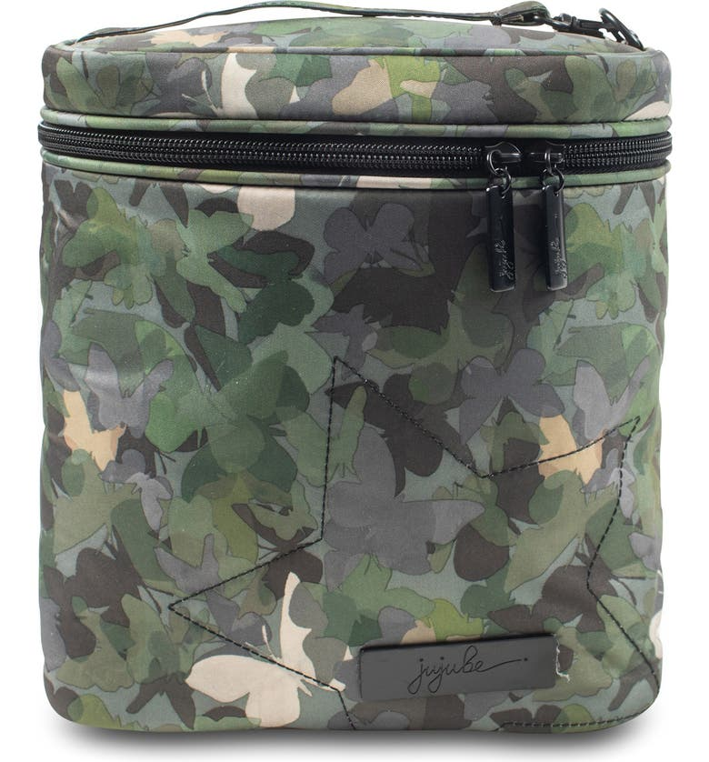 JU-JU-BE 'Fuel Cell - Onyx Collection' Lunch Bag, Main, color, BUTTERFLY FOREST