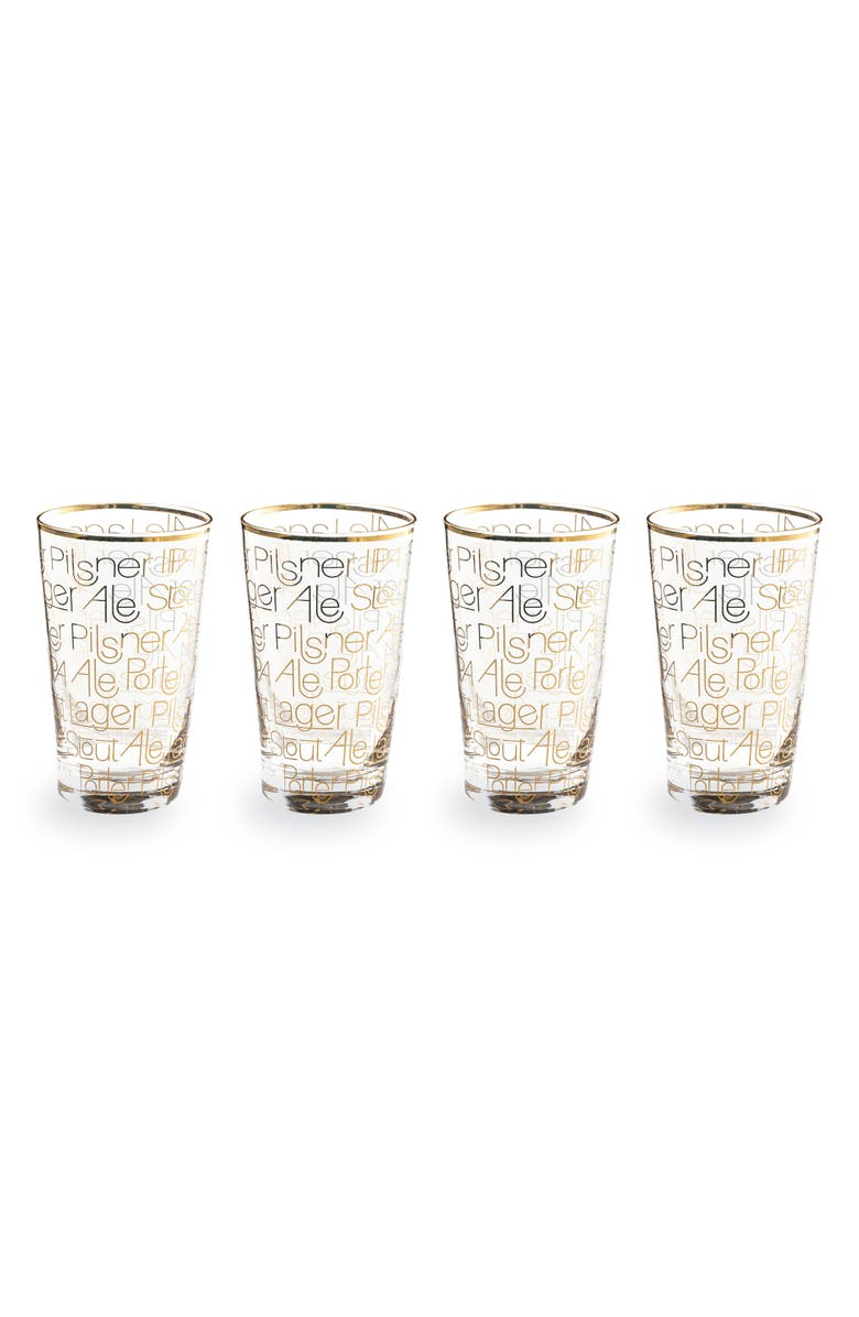 ROSANNA Set of 4 Pint Glasses, Main, color, 100