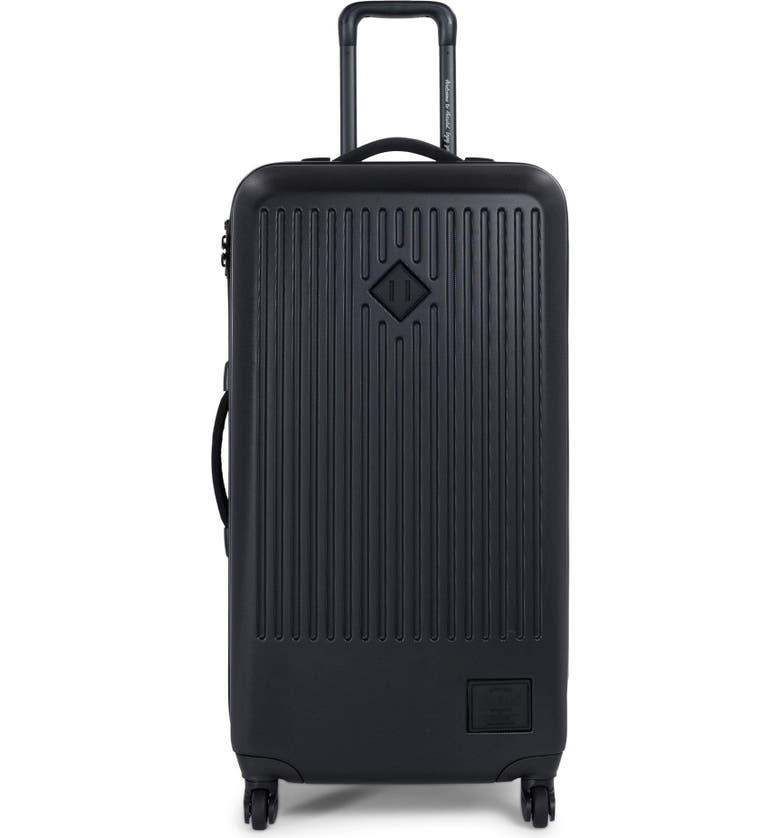 HERSCHEL SUPPLY CO. Trade 34-Inch Large Wheeled Packing Case, Main, color, BLACK