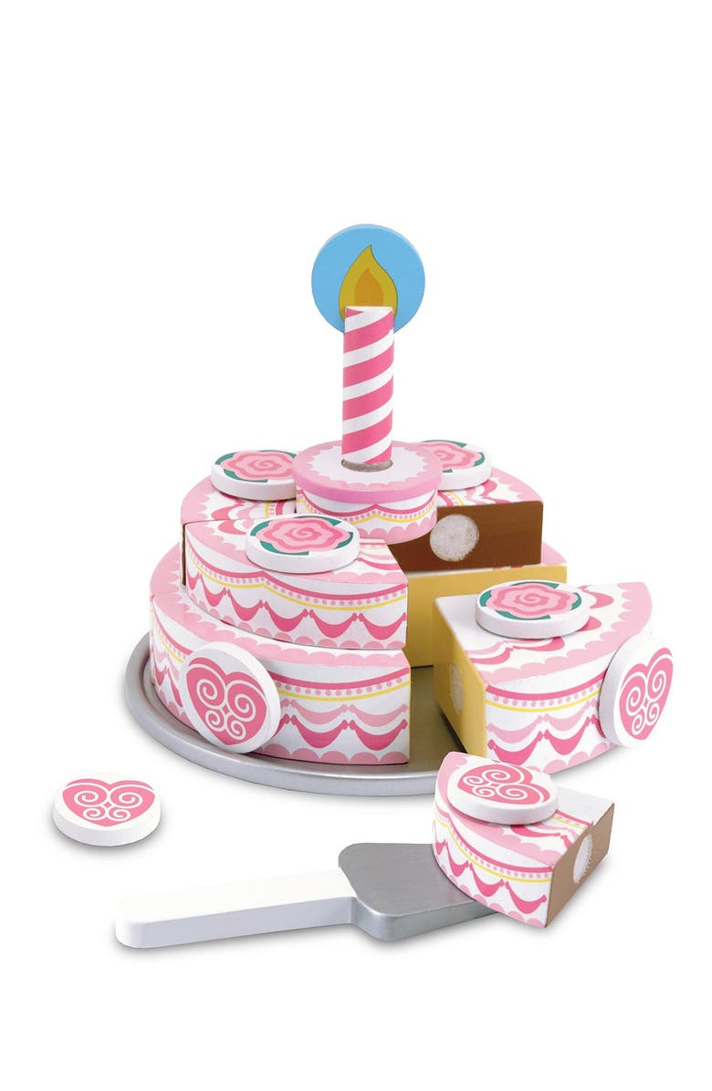 MELISSA & DOUG Triple Layer Party Cake, Main, color, 000