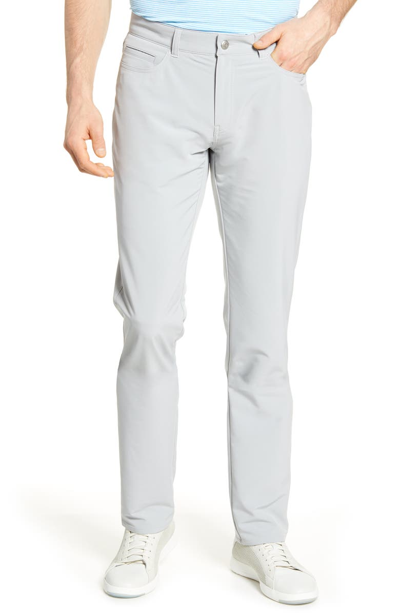 PETER MILLAR Double Weave Stretch Trousers, Main, color, 029