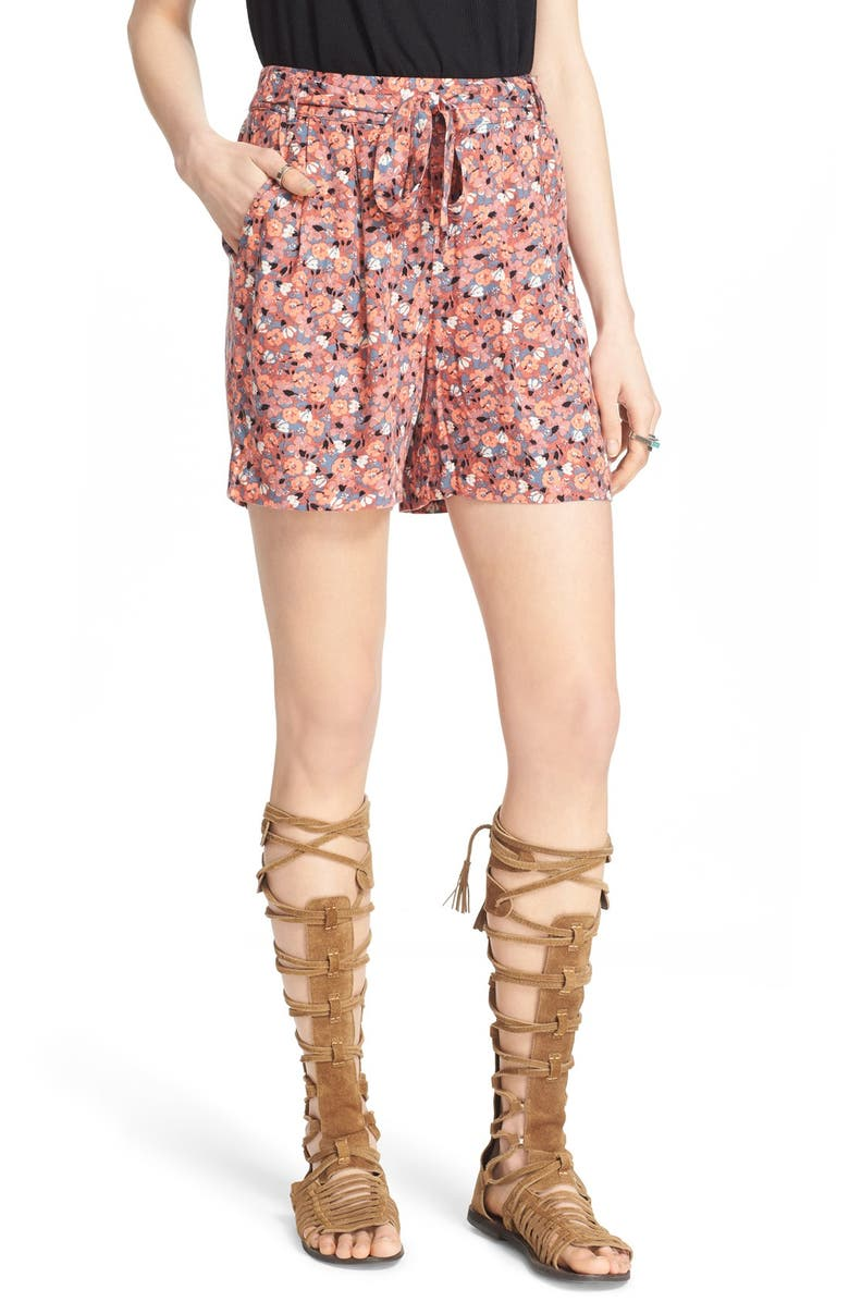 FREE PEOPLE 'Layla' Floral Print Shorts, Main, color, 650