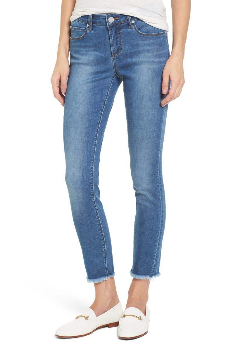ARTICLES OF SOCIETY Carly Ankle Skinny Jeans, Main, color, 400