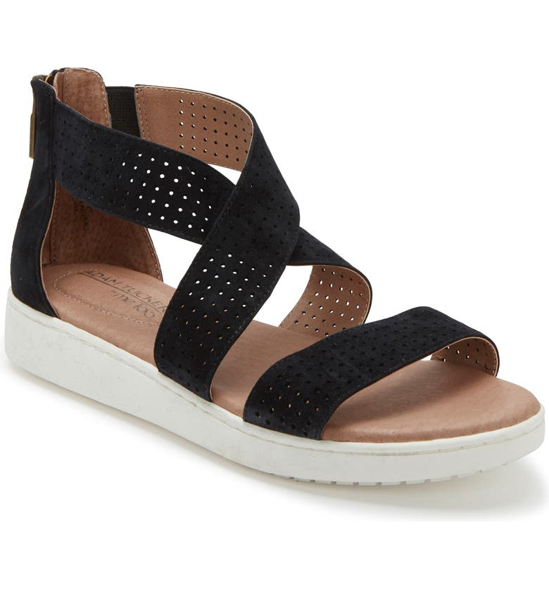 ADAM TUCKER BY ME TOO Adam Tucker Rayna Perforated Wedge Sandal, Main, color, 014