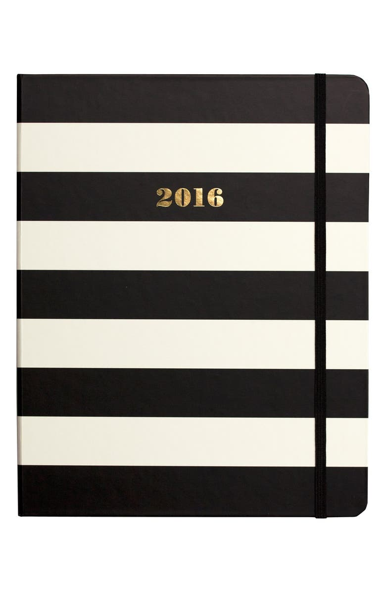 KATE SPADE NEW YORK large 17-month 2016 planner, Main, color, 001