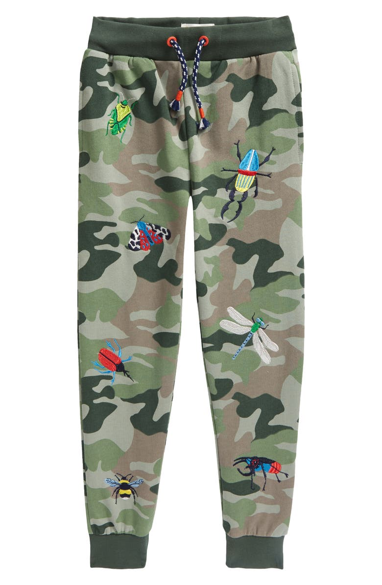 BODEN Kids' Embroidered Joggers, Main, color, 304