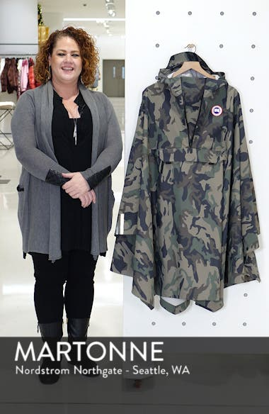 Classic Fit Camo Field Poncho, sales video thumbnail