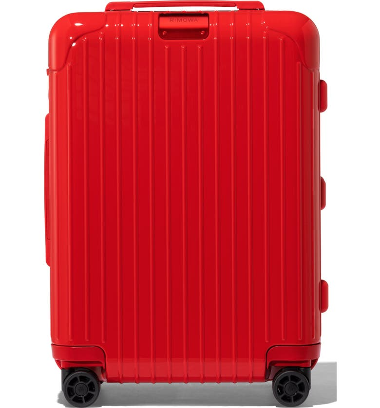 RIMOWA Essential Cabin 22-Inch Wheeled Carry-On, Main, color, RED