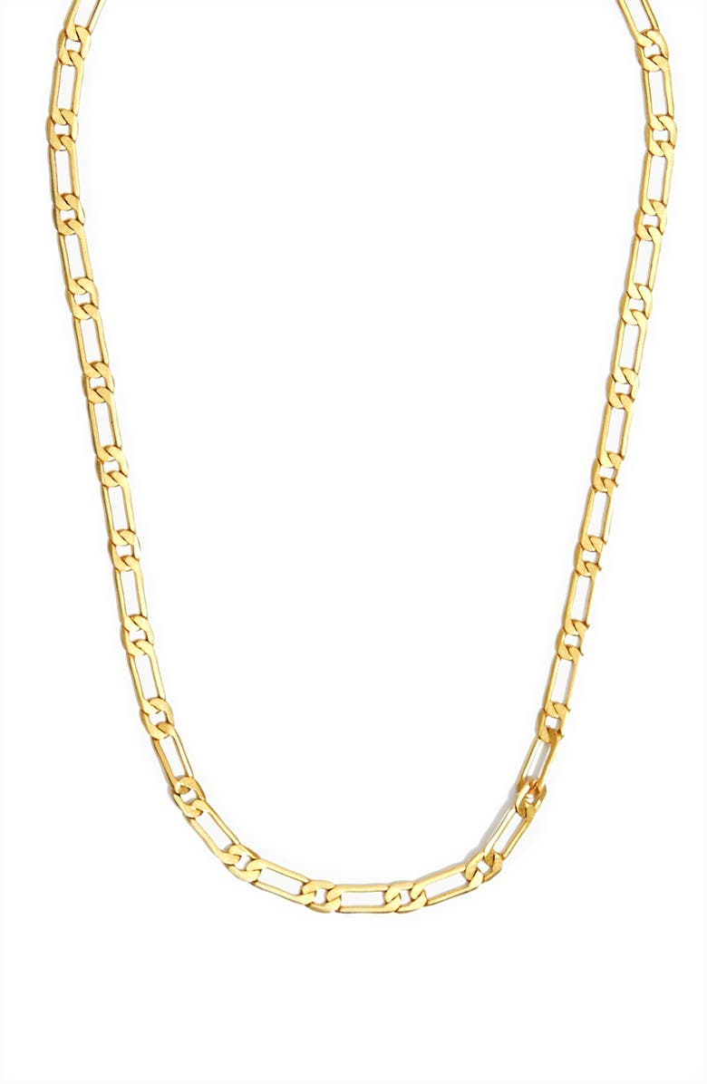 MADEWELL Flat Linked Chain Necklace, Main, color, VINTAGE GOLD
