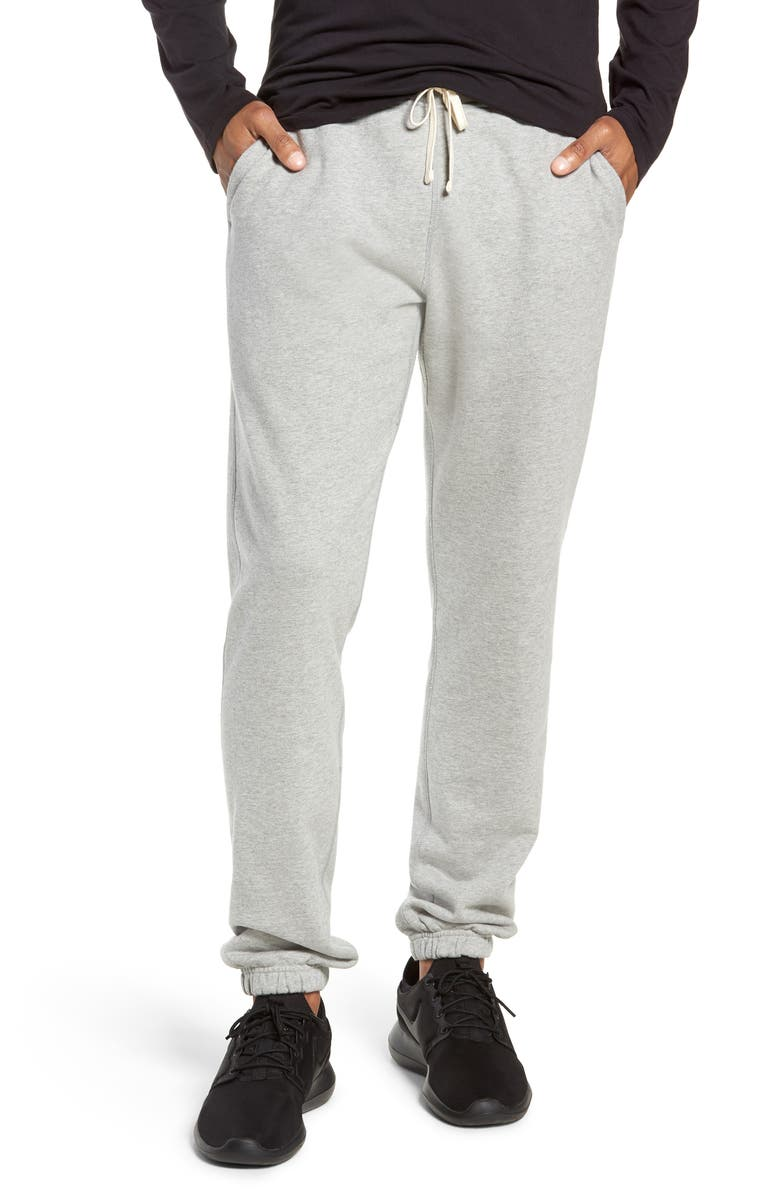 REIGNING CHAMP Cotton Jogger Pants, Main, color, 060