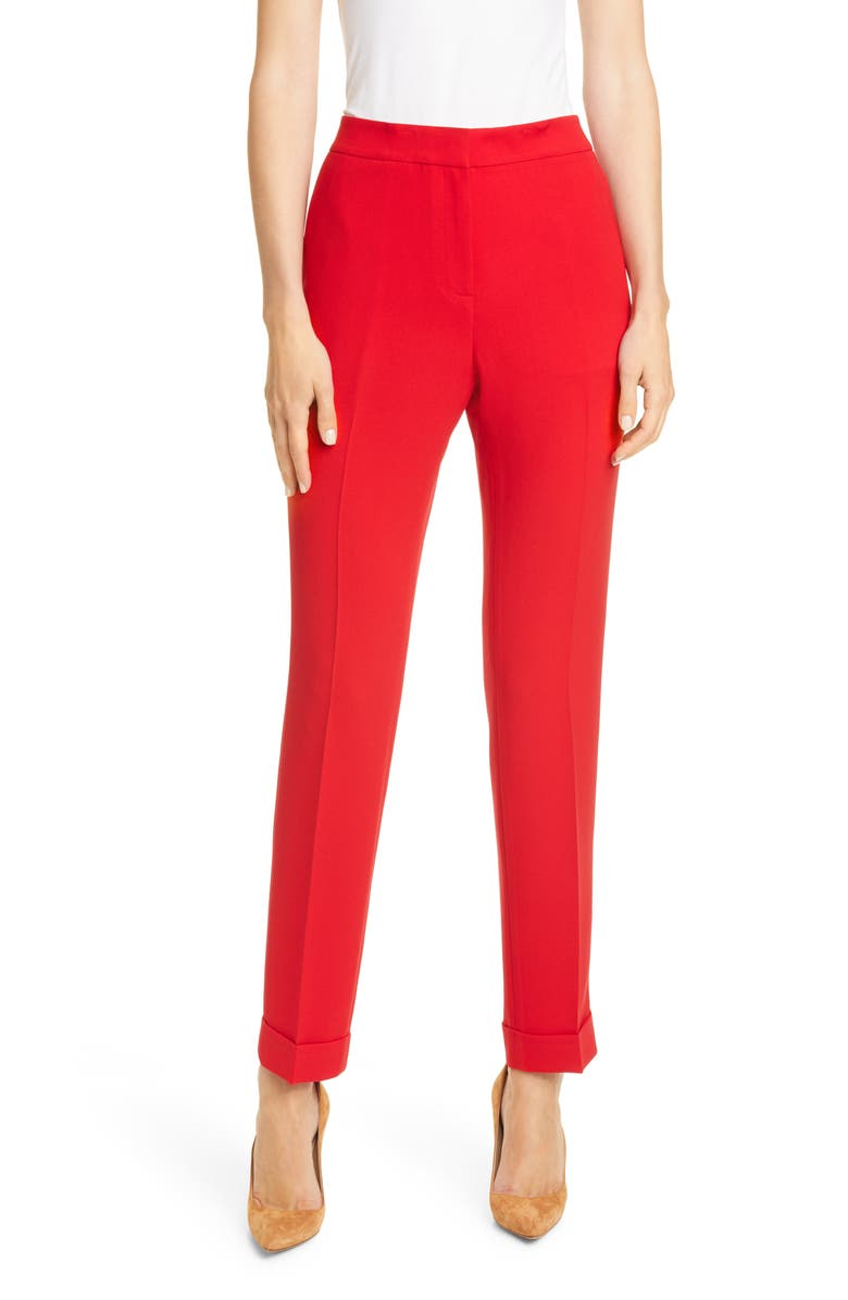LAFAYETTE 148 NEW YORK Clinton Cuffed Pants, Main, color, 600