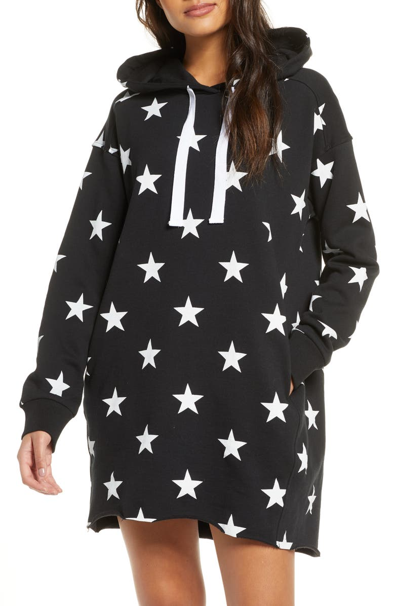 UGG<SUP>®</SUP> Lucille Hoodie Dress, Main, color, 001