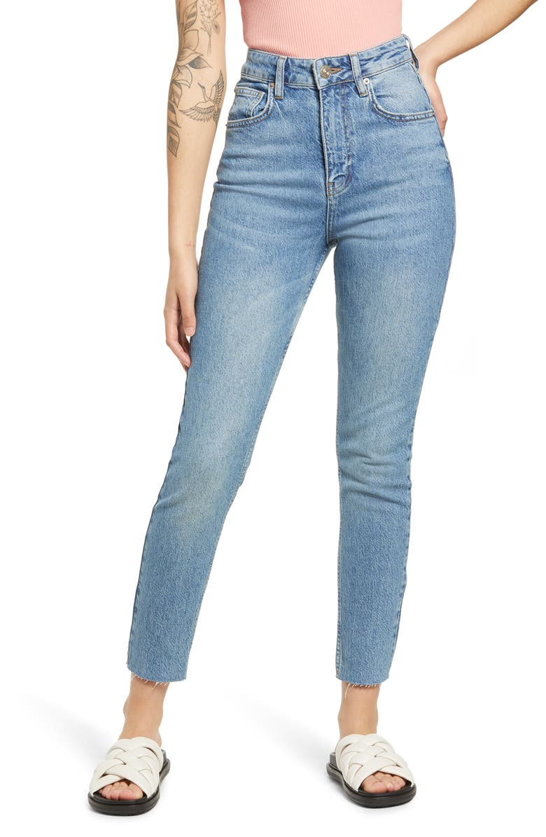 BDG URBAN OUTFITTERS Edie High Waist Jeans, Main, color, SPRING VINTAGE