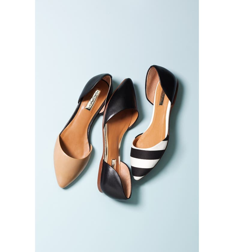 HALOGEN<SUP>®</SUP> 'Kayla' Pointy Toe Flat, Main, color, 710