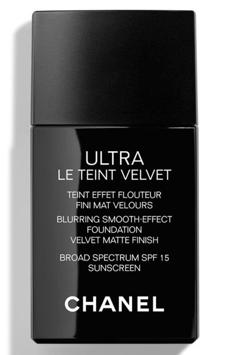 CHANEL ULTRA LE TEINT Velvet Blurring Smooth-Effect Foundation SPF 15, Main, color, BR42
