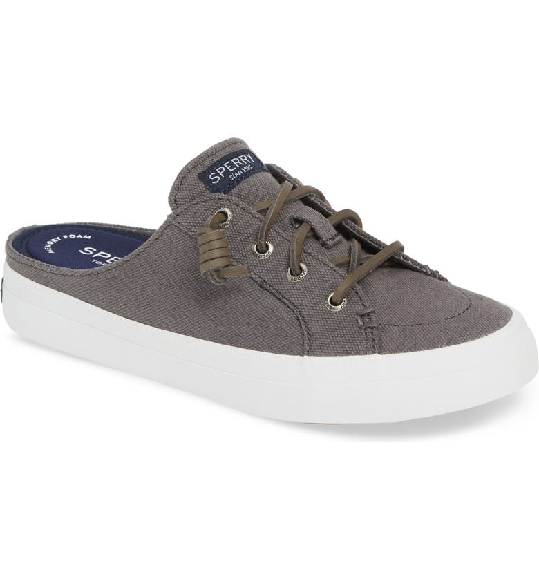 SPERRY Crest Vibe Mule, Main, color, GREY CANVAS