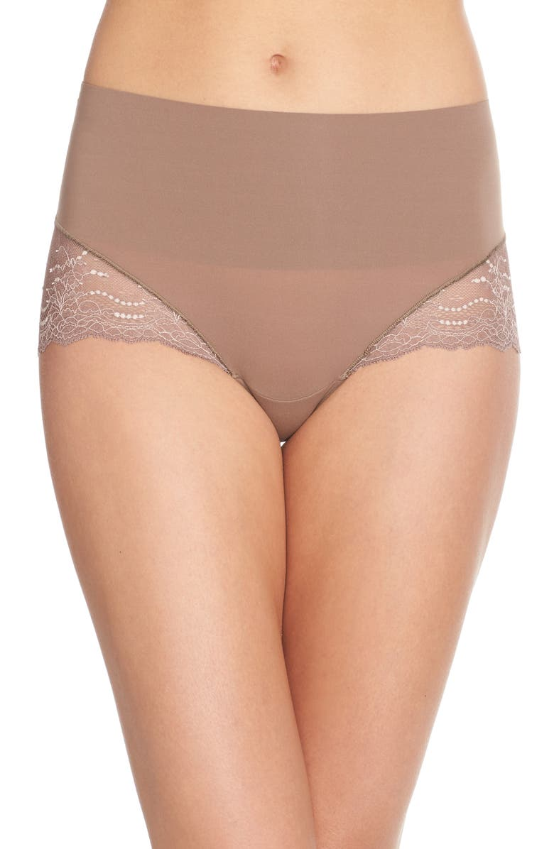 SPANX<SUP>®</SUP> Undie-tectable Lace Hi-Hipster Panties, Main, color, 250