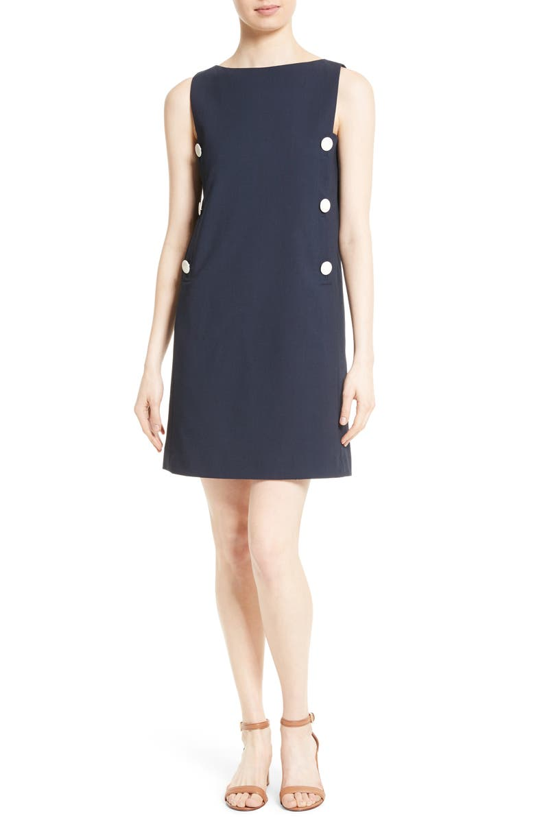 TORY BURCH Carrie Shift Dress, Main, color, 405