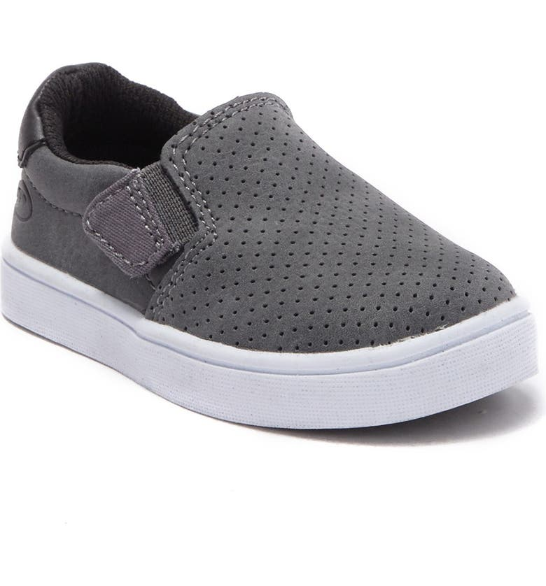 DR. SCHOLLS Madison Boy Perforated Slip-On Sneaker, Main, color, GRAY