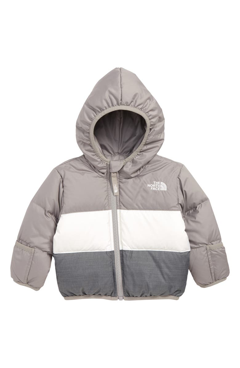 THE NORTH FACE Moondoggy Water Repellent Reversible Down Jacket, Main, color, 021