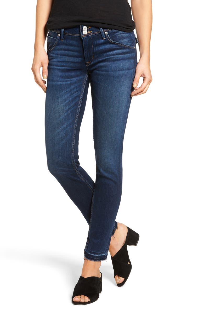 HUDSON JEANS Nico Ankle Skinny Jeans, Main, color, UNRULY