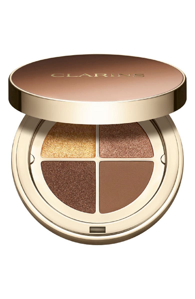 CLARINS Ombré 4 Couleurs Eyeshadow Quad, Main, color, 04 BROWN SUGAR