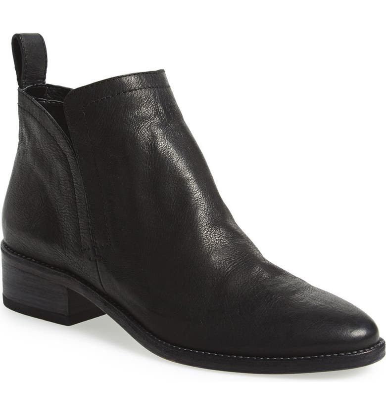 DOLCE VITA 'Tessey' Bootie, Main, color, BLACK LEATHER