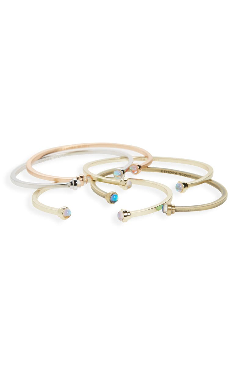 KENDRA SCOTT 'Kriss' Station Bangles, Main, color, 650