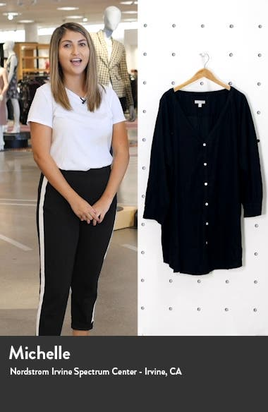 Oversize Button-Up Cover-Up, sales video thumbnail