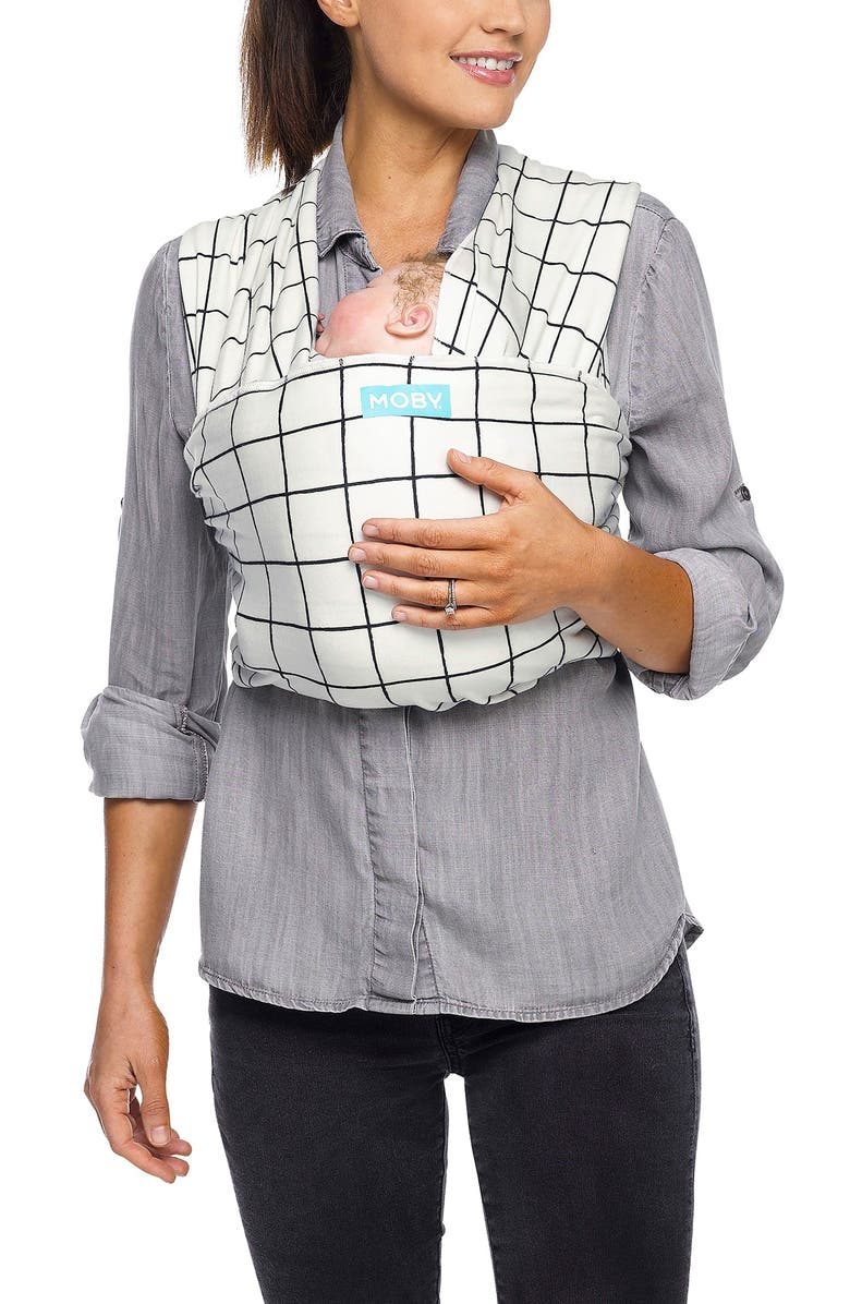 MOBY Evolution Baby Carrier, Main, color, LATTICE