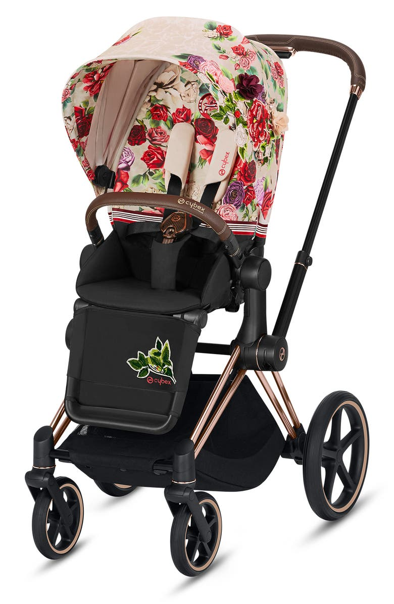 CYBEX Light Spring Blossom Seat Pack for Priam 3 Stroller, Main, color, LIGHT BEIGE