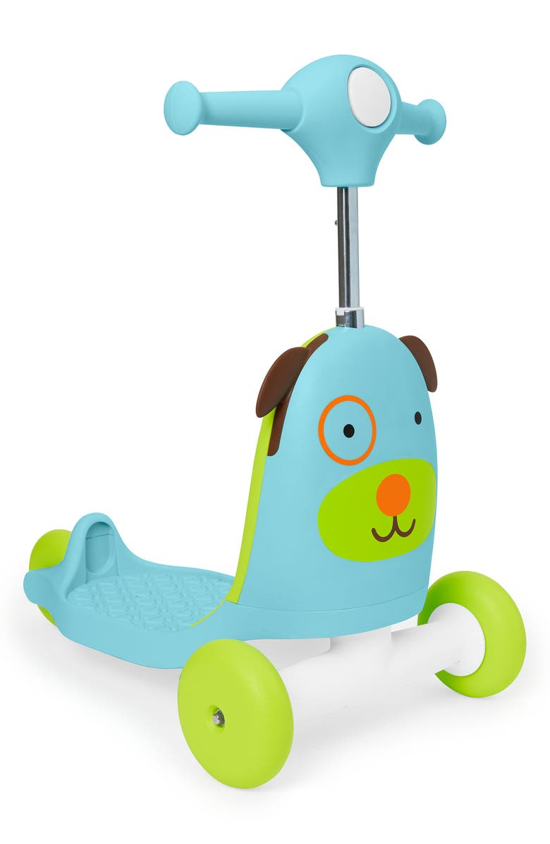 SKIP HOP Zoo Ride-On Dog Toy, Main, color, 400
